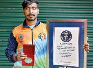 Hyderabad's Sai Deepak aspires to bring taekwondo Olympic glory to India