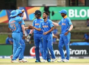 India U19 beat Japan in a one-sided game by 10 wickets