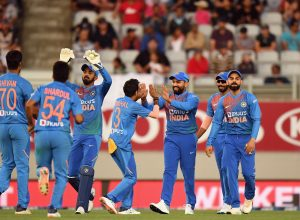 India beat New Zealand by 6 wickets, take 1-0 lead in T20 series