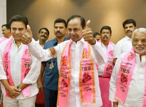 Pension to those above 57 years from April: KCR