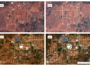 Satellite Images: Here is how world's largest meditation centre developed