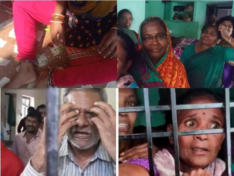 73 persons found chained at old-age home, Rachakonda police book caretakers