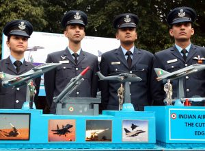 IAF displays model of tableau for Republic Day 2020