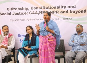 Radhika, mother of Rohit Vemula to launch 'Mothers for Nation' Yatra