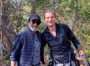 Superstar Rajinikanth shoots with Bear Grylls at Bandipur