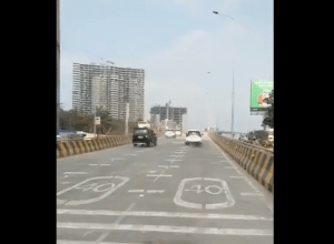 Traffic resumes on Biodiversity flyover, selfies banned