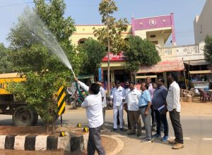 Siddipet starts tree cleaning initiative