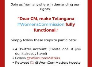 Tweetathon in search for TS Women's Commission chairperson