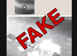 Fact Check: Video of airstrike on Gen Soleimani is fake