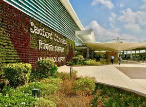 Traffic flow starts declining at Vijayawada international airport