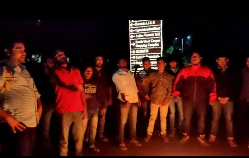 ABVP protests against allegations of attack on JNU students