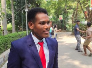 Success story: He lived in a roadside tent but made it to Delhi University
