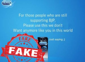 Fact Check: Condom brand Durex no way related to JNU stir