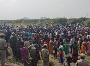 Protests erupt in Andhra Pradesh, MP Galla Jayadev and thousands detained