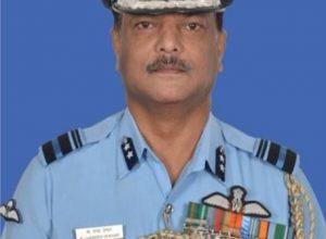 Vishisht Seva Medal for Hyderabad Air Vice-Marshal