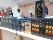 Adilabad: Gram Panchayat fines people of Rs 500 for lockdown violation in search of illicit liquor