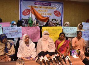 'Women Of Hyderabad' against CAA & NRC