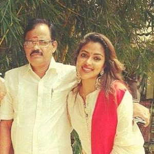 Amala Paul's dad Paul Varghese passes away