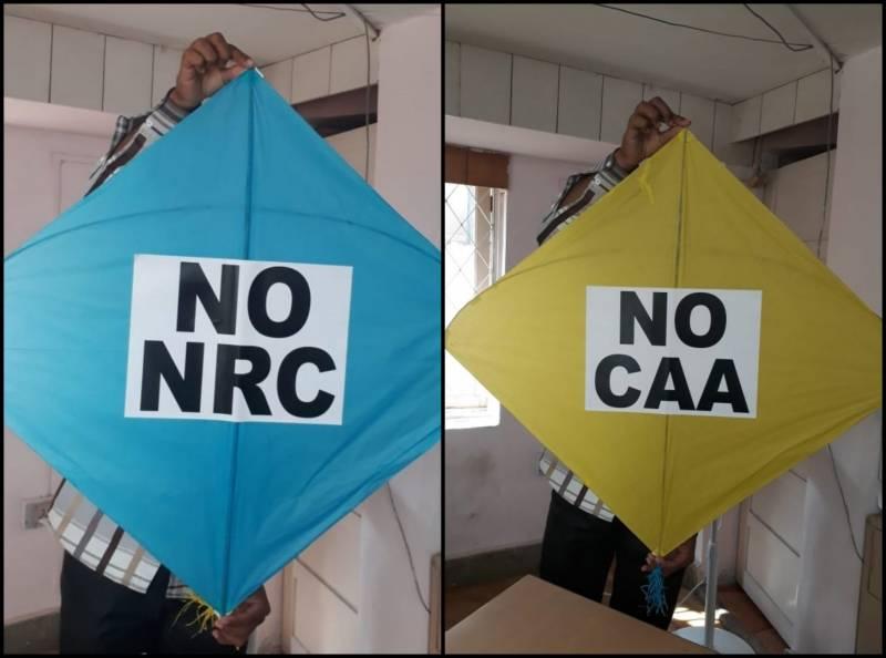 This Sankranti, anti-CAA kites will soar in Hyderabad's sky