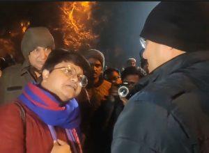Former Loyola student Apeksha Priyadarshini confronts police in viral video