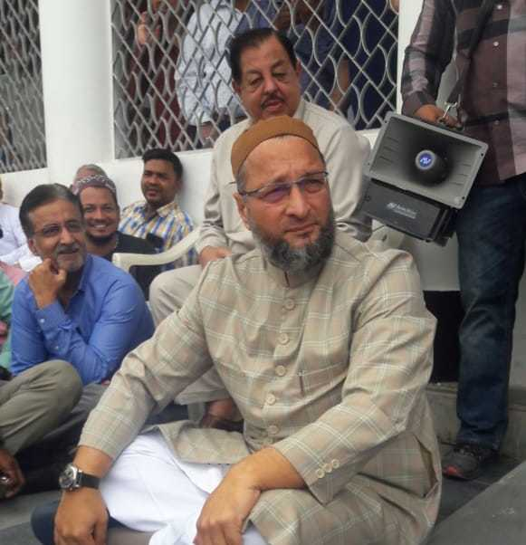 Transport industry is on a verge of collapse, Owaisi asks KCR to exempt MV tax