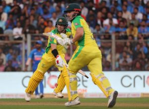 Australia defeats India in a one sided contest by ten wickets, takes 1-0 lead