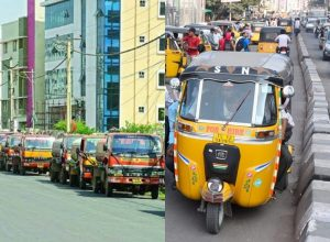 1,198 autos and 75 Water Tankers booked in Hyderabad for violating traffic rules