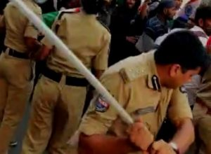 Caught on video: Hyderabad top cop Avinash Mohanty thrashes protestors in anti-CAA tiranga rally