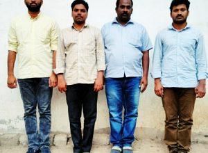 Cyberabad police arrest four-member team for data theft