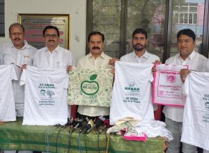 With nature: Dasyam Vinay Bhaskar to distribute 10K cloth bags to Medaram devotees