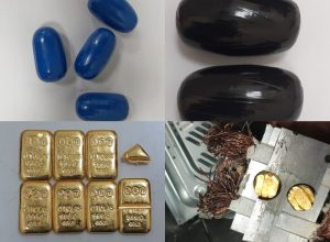 In a big haul, DRI Hyderabad officials seize smuggled gold worth Rs 1.66 Cr