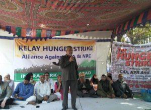 Hyderabadis begin relay hunger strike against CAA