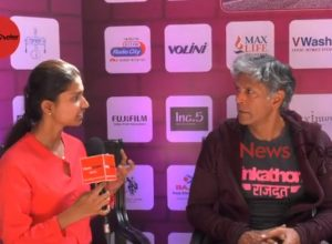 Milind Soman in candid conversation with NewsMeter