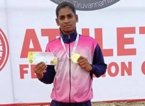 Tea seller's daughter, wins gold medal in Khelo India 2020