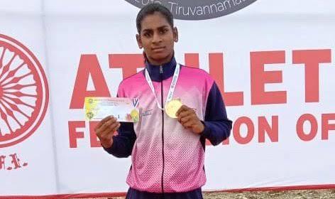 Tea seller's daughter, wins gold medal in Khelo India 2020