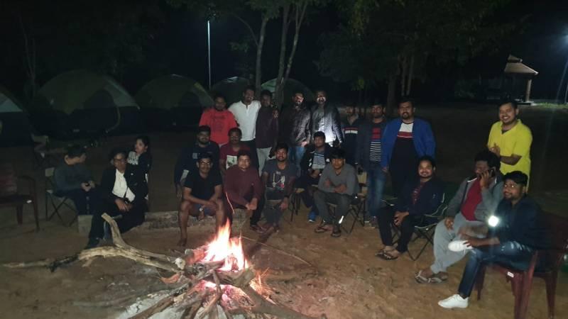 Night Camping At Laknavaram
