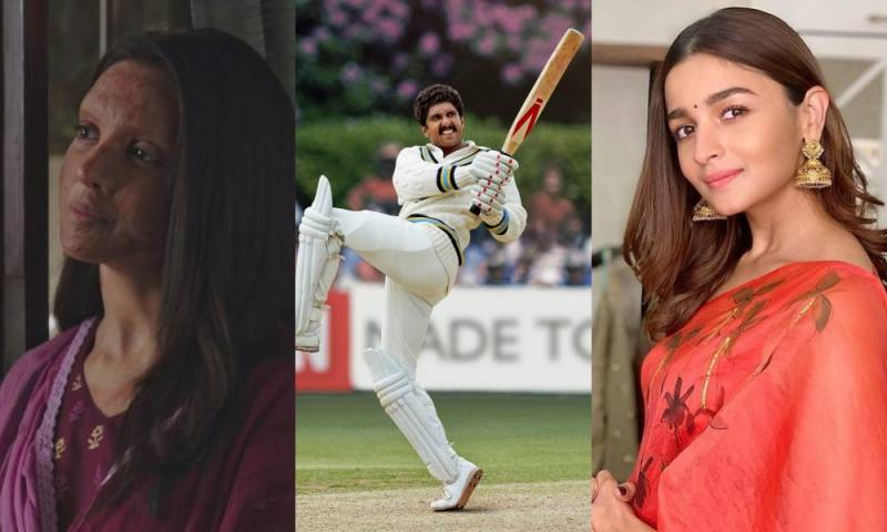 Alia, Ranveer and Deepika feature in the much-awaited Bollywood biopics of 2020