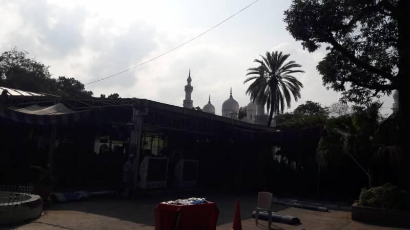 Shahi Masjid At Nampally Garden