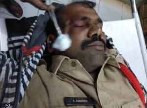 Vikarabad police arrests four youngsters who put Nawabpet SI in hospital with their car
