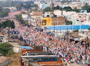 Holding the national flag high, lakhs join Tiranga rally in Hyderabad