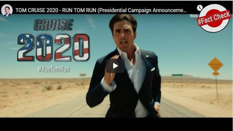 Tom Cruise as Trumps successor? Think again!