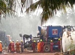 Mumbai experts control gas leakage in East Godavari