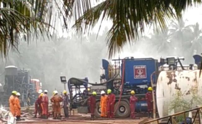 Mumbai experts control gas leakage in East Godavari