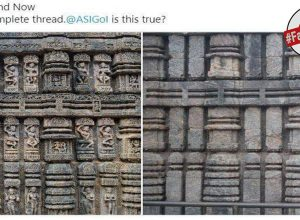 Fact Check: Is ASI replacing Konark Temple's sculptures with plain stones?