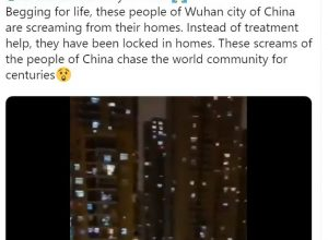 Fact Check: Does this video show Wuhan residents calling for help amid Corona virus outbreak?