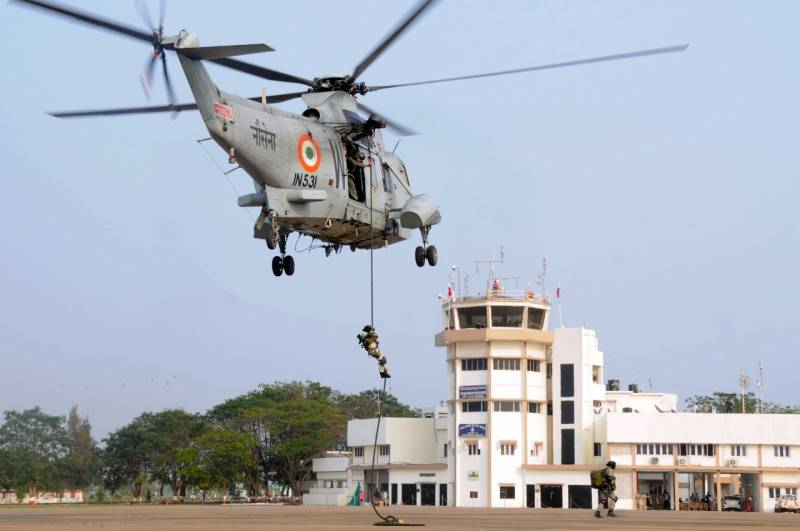 INS Dega conducts mock anti-hijack exercise at Vizag airport