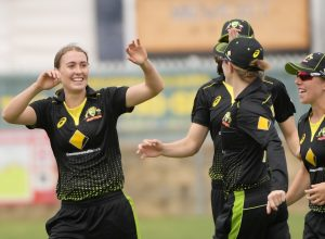 Australia women beat India women by 4 wickets in a close encounter