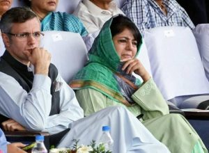 Hours after PM's statement, J&K government books two former chief ministers