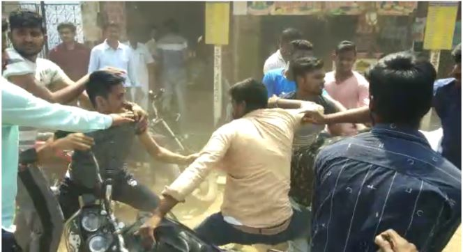 Several injured as Inter students clash at Palakonda town in AP