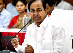 Where are the 150 GHMC Corporators, MLAs, MLCs during shutdown: KCR fumes